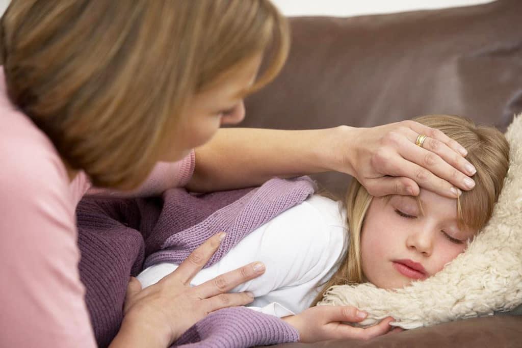 Снижение активности ребенка