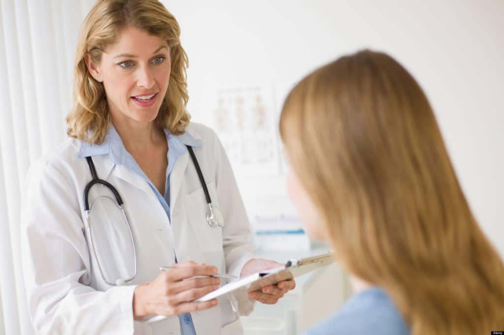 Рак шейки матки. Осмотр у врача
