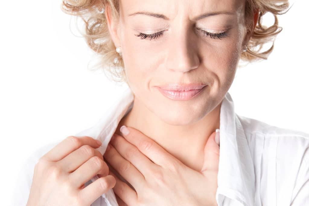 Симптомы при хроническом тонзиллите