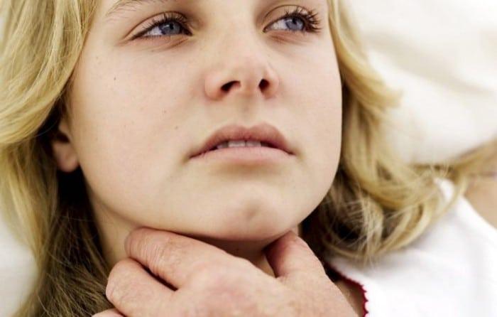 Симптомы отека гортани