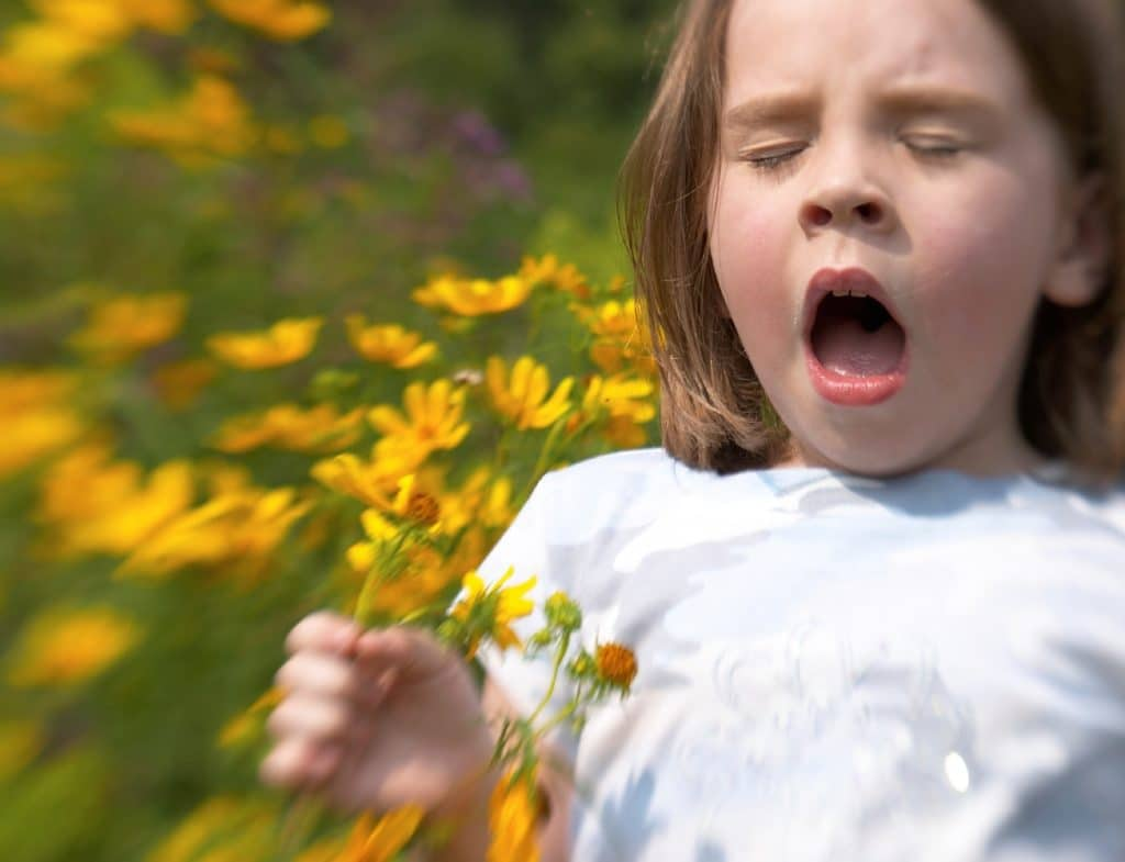 Симптомы и признаки респираторного аллергоза у детей