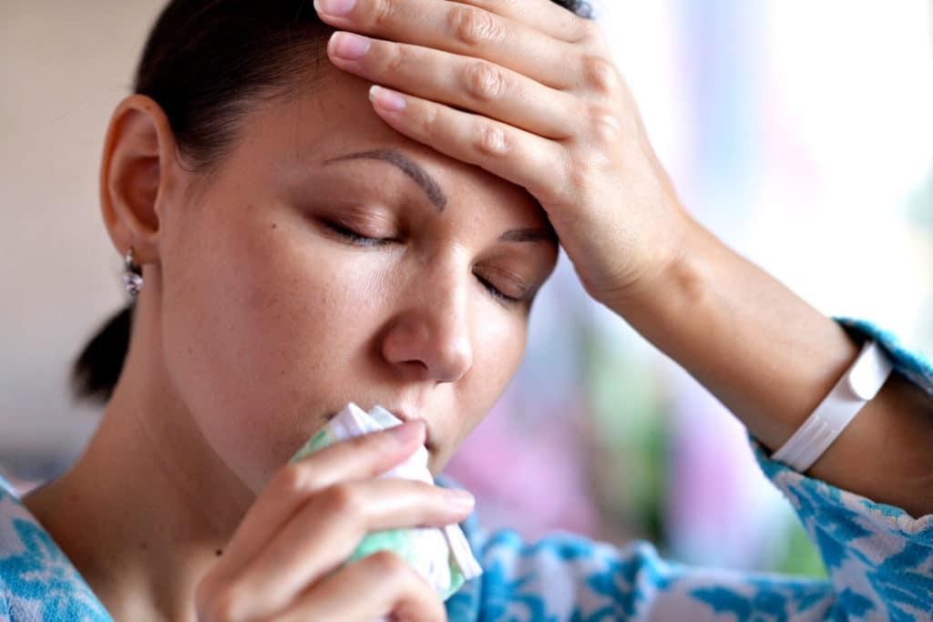 Гематома носовой перегородки - симптомы