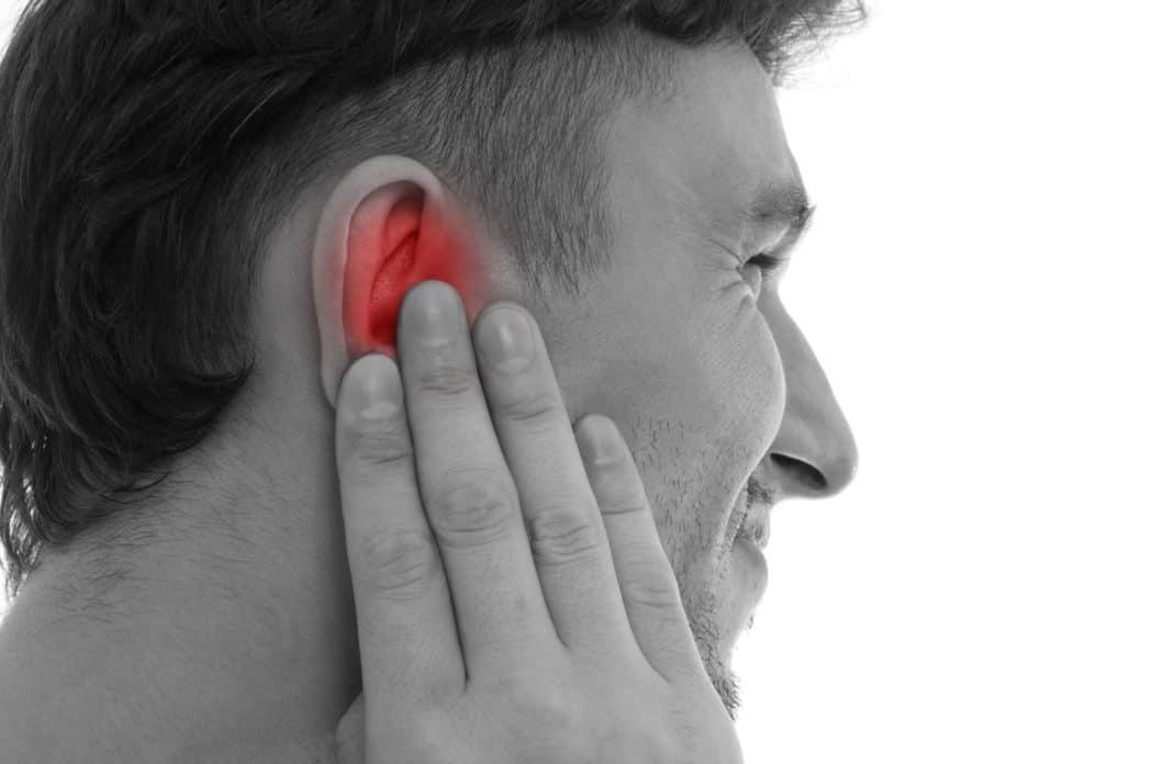 Как сделать боль в ухе 160
