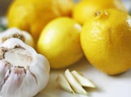 Чеснок с лимоном при холистерине