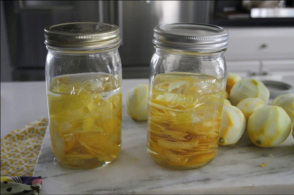 Настойка на спирте с лимоном и чесноком
