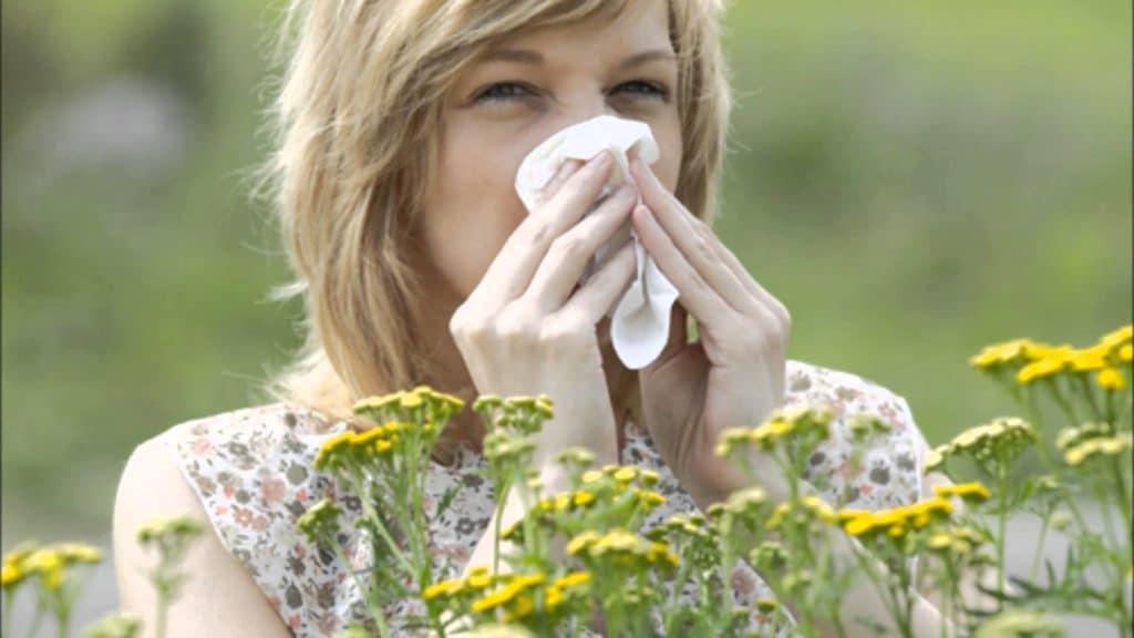 Аллергическая реакция .