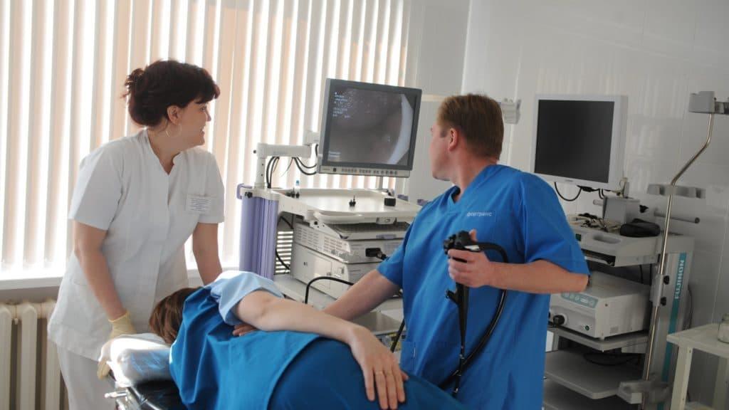 Эзофагоскопия один из методов диагностики эзофагита