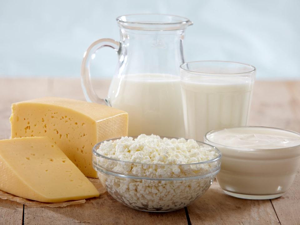Рекомендуемые кисломолочные продукты