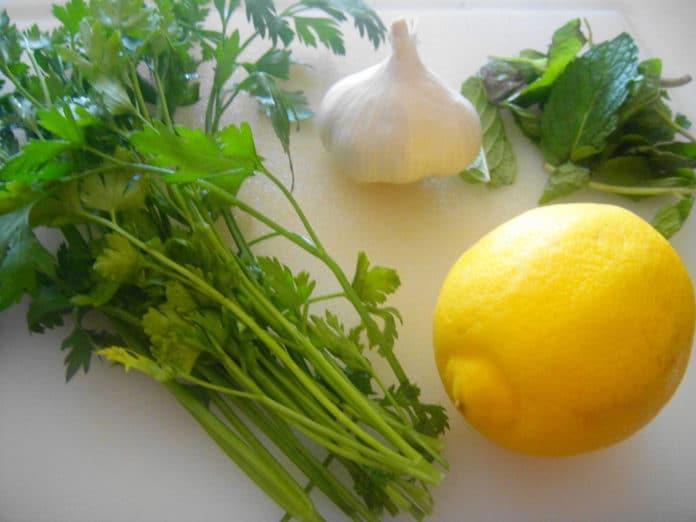 Лимон чеснок петрушка при диабете