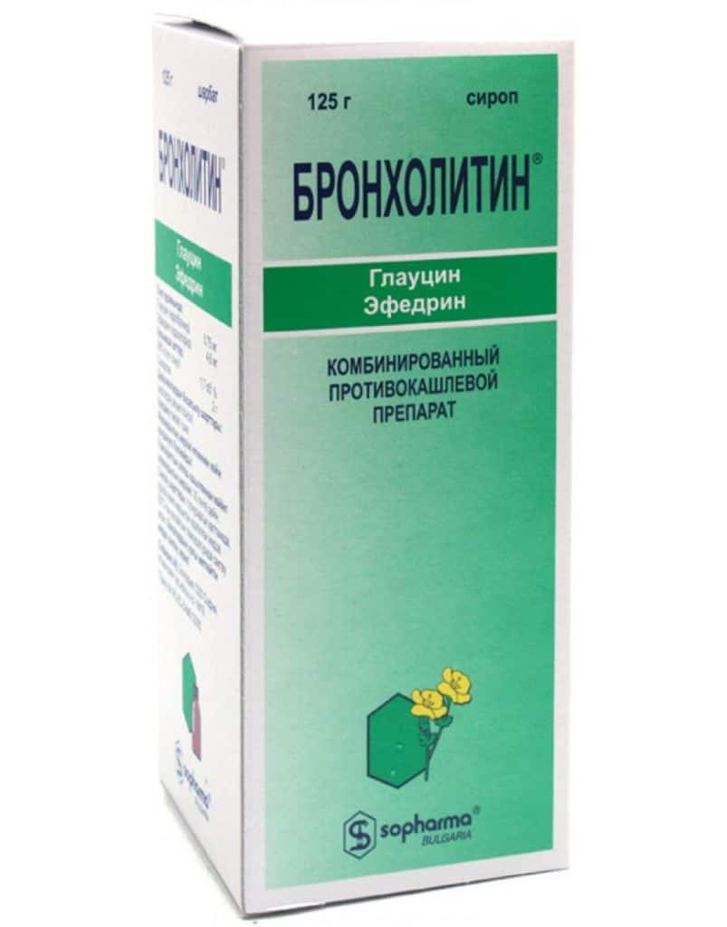 Препарат от кашля «Бронхолитин»