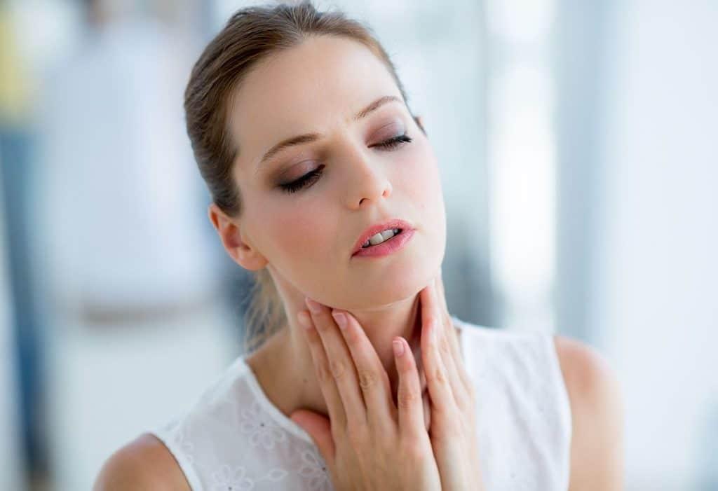 Симптомы тонзилита