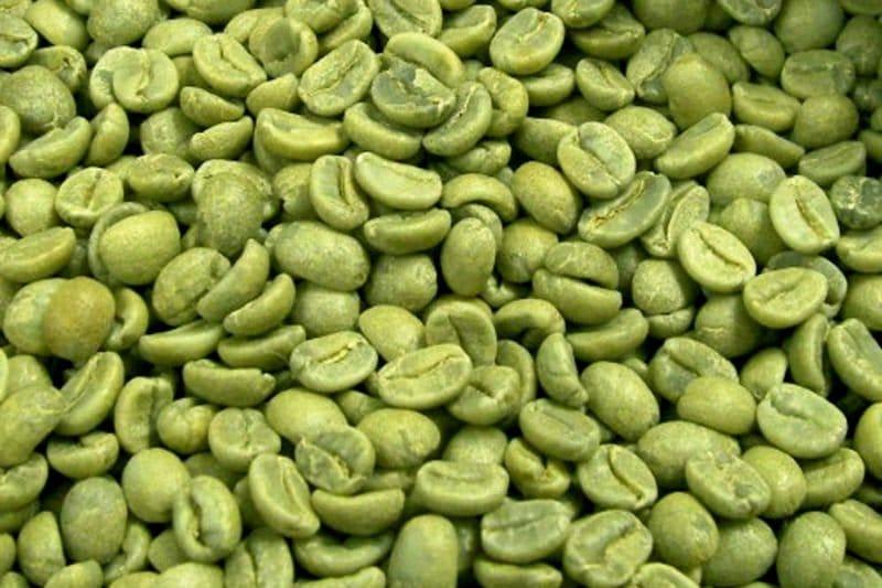 Зеленый кофе - не обжаренные зерна