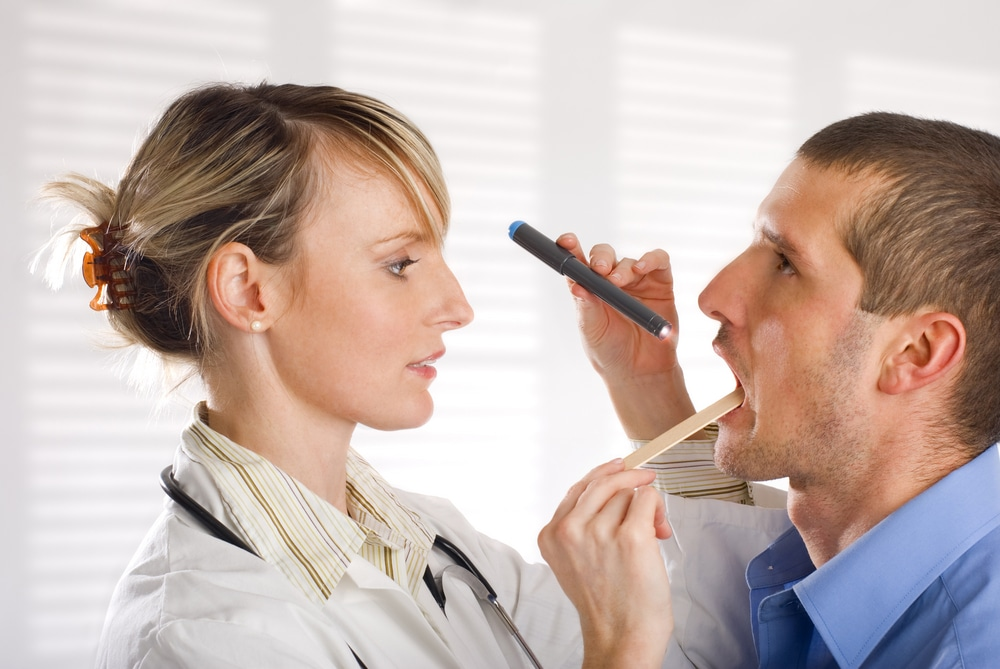 Диагностика язвенно-пленчатой ангины