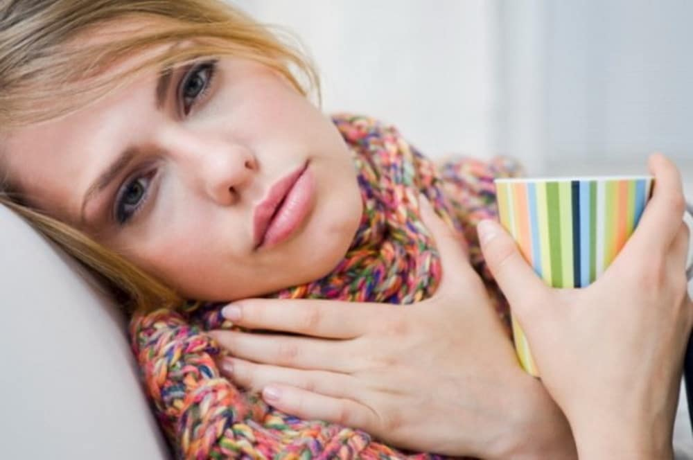 Язвенно-пленчатая ангина - симптомы