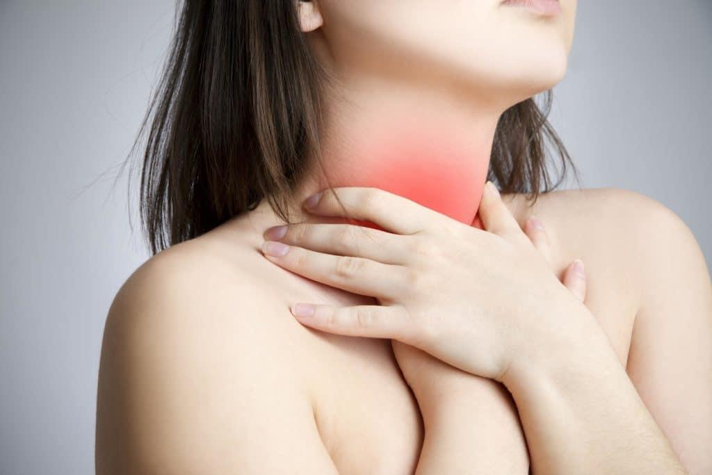 Причины возникновения боли в горле