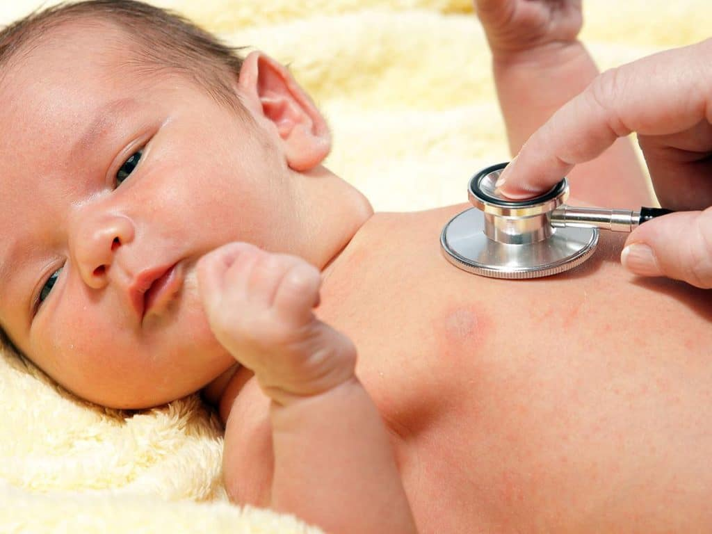 Лечение грудничков