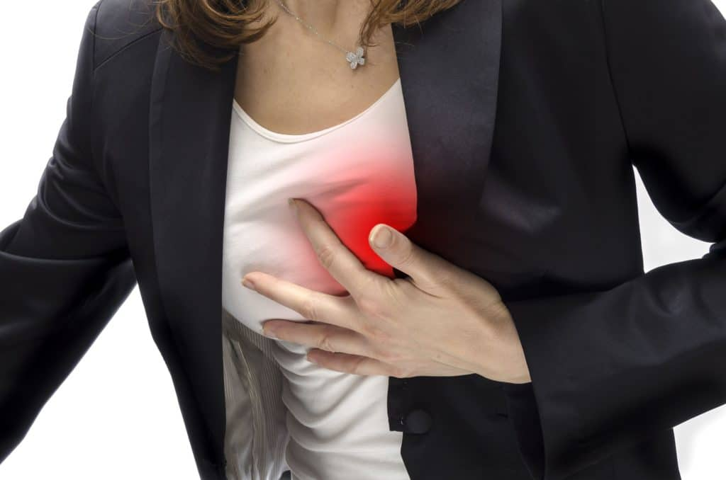 Тупая боль в сердце
