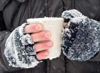 Обморожение пальцев рук