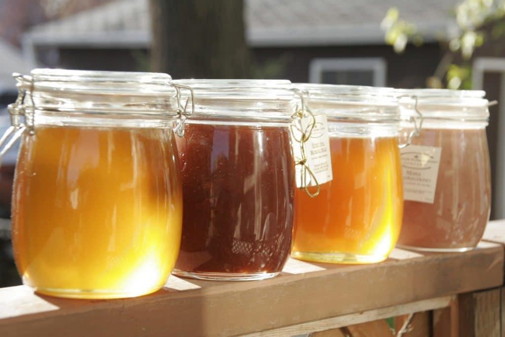 храним мед в стекле