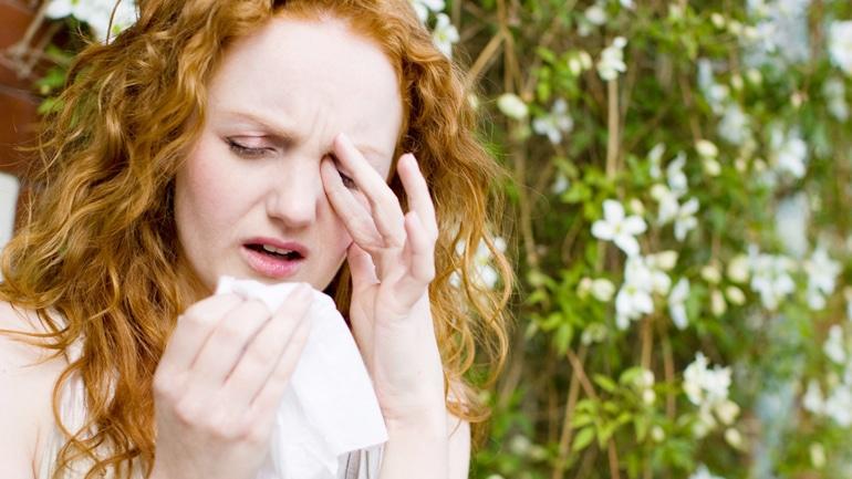 Симптомы проявления аллергии на домашние растения