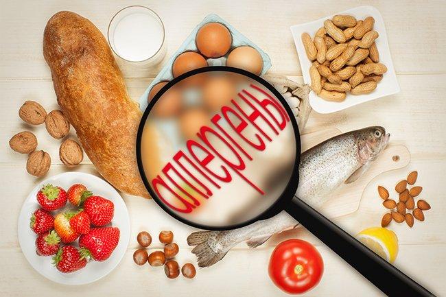 В период обострения аллергии следует придерживаться специальной диеты избегая продуктов-аллергенов