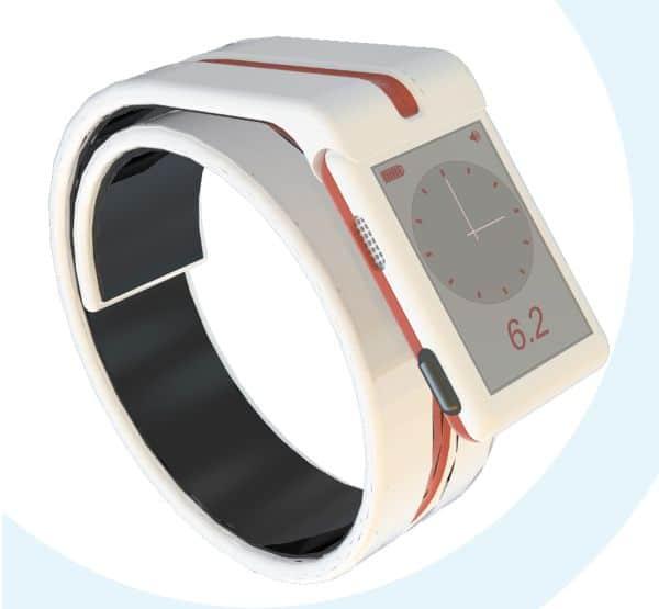 Часы глюкометр