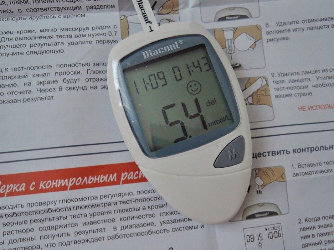 Глюкометр Диаконт