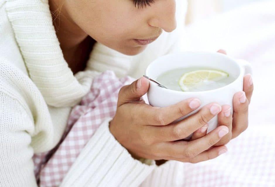 Опасность горячего чая при простуде
