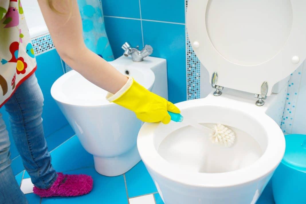Как правильно почистить унитазный ершик?