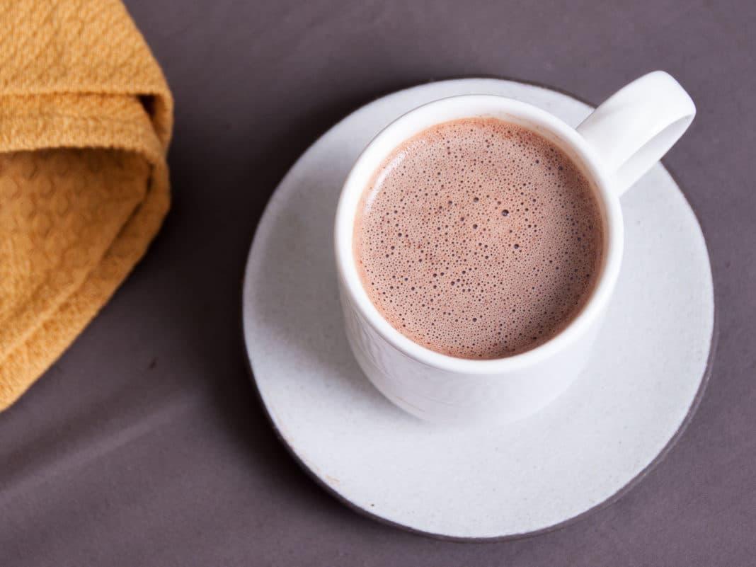 Какао при язве