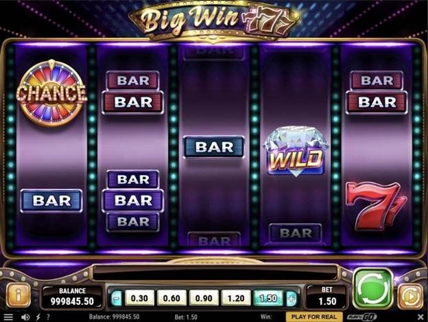 Big Win 777: сюжет и символы слот машины